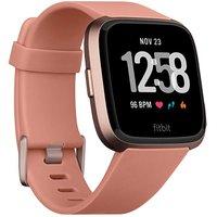Fitbit Versa Peach Rose Gold Aluminium