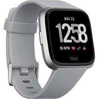 Fitbit Versa Grey Silver Aluminium