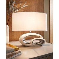 Elegant White Table Lamp