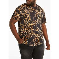 Baroque Style Printed T-Shirt.