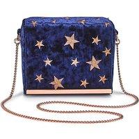 Star Embroidered Shoulder Bag