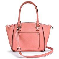 Blush Emily Winged Tote Bag