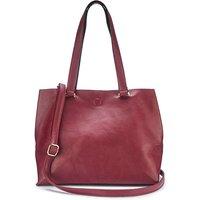 Mia Oxblood Shopper Bag