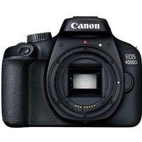 Canon EOS 4000D SLR Black Camera Body
