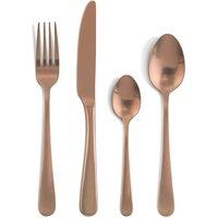 Amefa Copper 16 Piece Cutlery Set