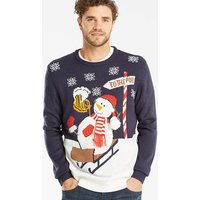 Label J Snowman Xmas Knit Regular