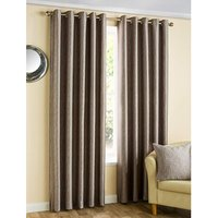 Ziggi Metallic Lined Eyelet Curtains