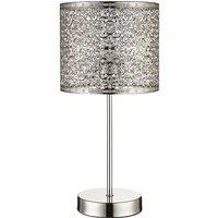 Jai Fretwork Table Lamp