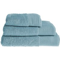 Bamboo Cotton Towels-Duck Egg