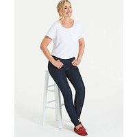 Petite Indigo Everyday Skinny Jeans