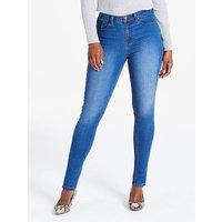 Petite Blue Everyday Skinny Jeans