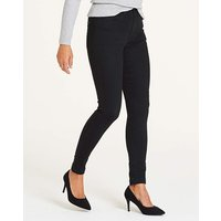Petite Black Everyday Skinny Jeans