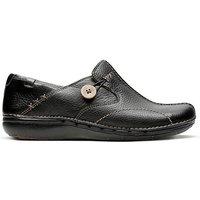 Clarks Un Loop Shoes D Fit.