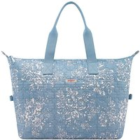 Image of Cath Kidston Embroidered Overnight Bag