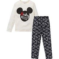 Mickey Mouse Long Sleeve Pyjamas.