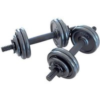 Opti 15kg Cast Dumbbell Set.