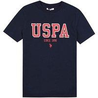 U.S. Polo Assn. Boys Navy T-Shirt