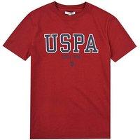 U.S. Polo Assn. Boys Red T-Shirt