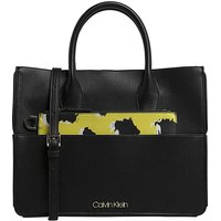 Calvin Klein Neon Leopard Tote Bag