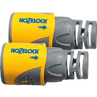 Hozelock Hose End Connector Twin Pack