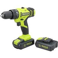 Guild 18V Combi Drill 2 Batteries