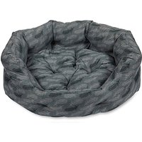 Petface Feather Oval Dog Bed