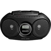 Philips AZ215B/05 Boombox - Black.