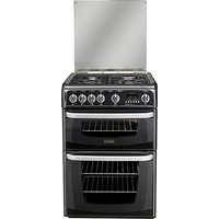 Hotpoint CH60GCIK Double Cooker + Ins.