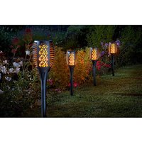 Set of 2 Solar Cool Flame Compact Torch