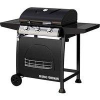 George Foreman 3 Burner Gas Barbecue.