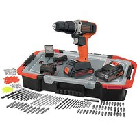 Black + Decker 18v Hammer Dril Set.