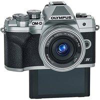 Olympus E-M10 Camera Silver.