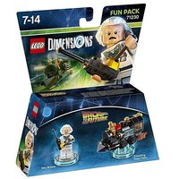Lego Dimensions Back 2 Future Doc Brown