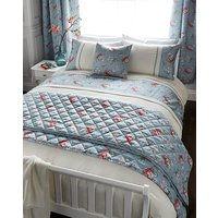 Anna Faux Silk Duvet Cover Set