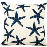 Blue Star Fish Outdoor Cushion