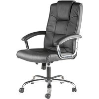 Houston Leather Faced Executive Chair.