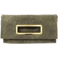 Lizzie Lee fold over soft clutch