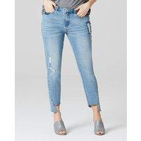 Evie Twisted Seam Straight Leg Jeans