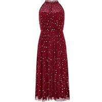 Monsoon Chiara Tulle Halter Sequin Dress