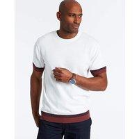 White T-Shirt Style Knit Regular.