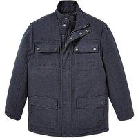WandB Indigo Padded Coat R