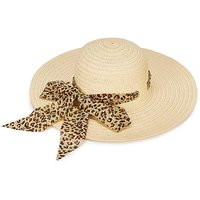 Chiffon Band Floppy Hat
