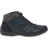 Rieker Jinnie Womens Lace Up Ankle Boots