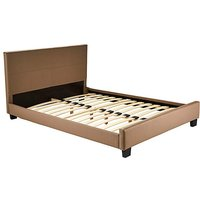 Madison Double Faux Leather Bedstead