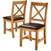 Harrogate Upholstered Pair of Chairs