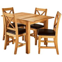 Harrogate Small Extending Table 4 Chairs