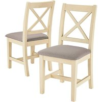 Harrogate Two Tone Upholstered Chairs
