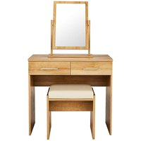 Riga Dressing Table with Stool