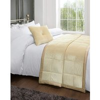 Simply Be Reversible Velvet and Faux Silk Throw FO16703