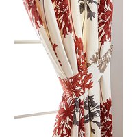 Millie Printed Floral Curtain Tie-Backs